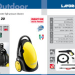 HIGH PRESSURE CLEANER LAVOR – EQ 20 – MADE IN ITALY