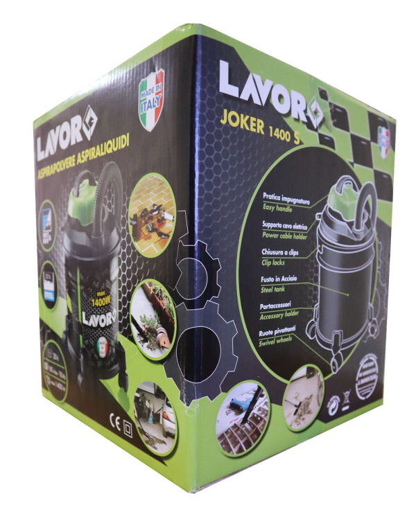 LAVOR HOME USE VACUUM CLEANER JOKER 1400 S