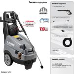 HIGH PRESSURE CLEANER LAVOR – TUCSON 1509 LP (SINGLE-PHASE)