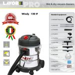 VACUUM CLEANER WET & DRY LAVOR – WINDY 120 IF – MADE IN ITALY