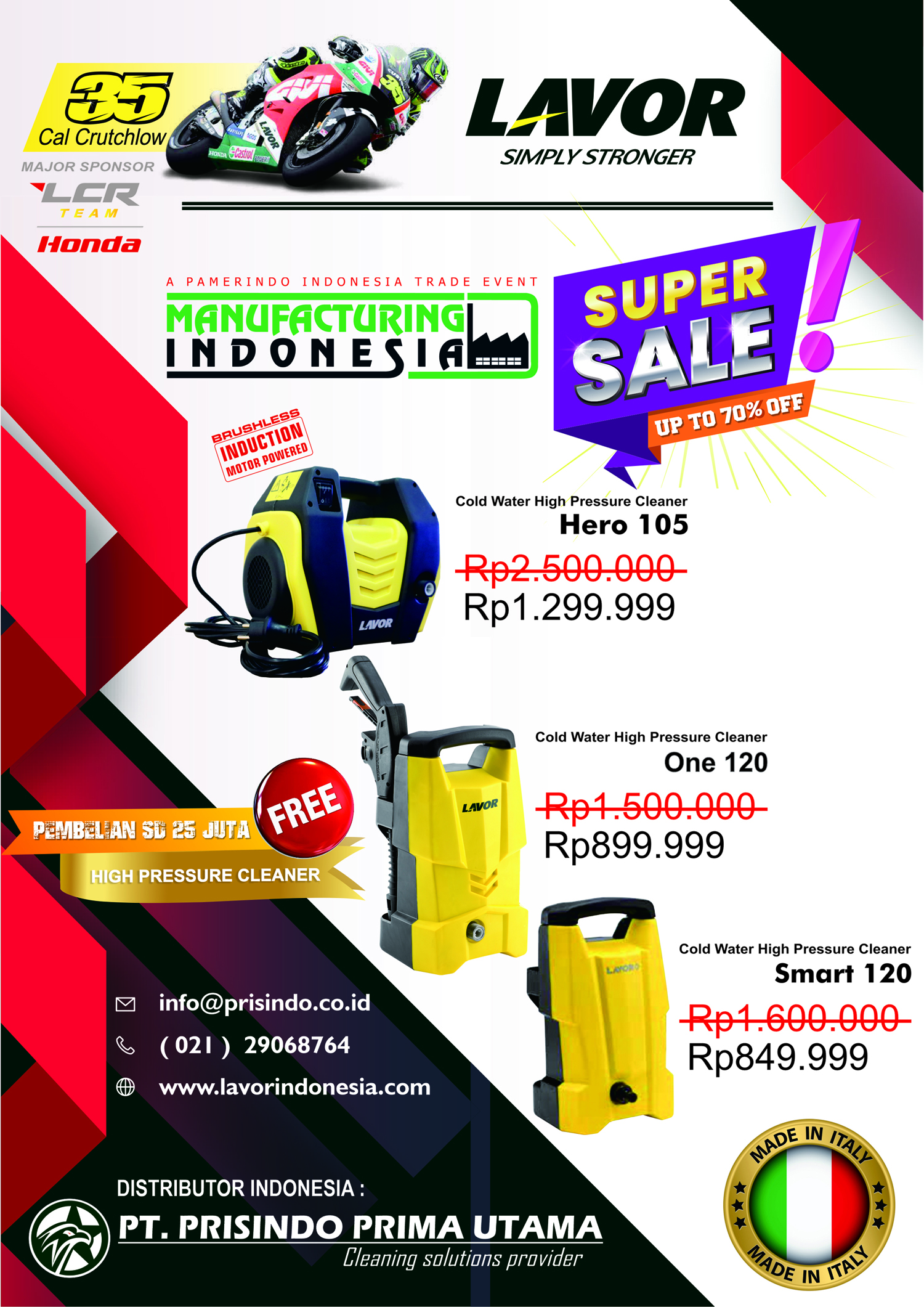 Manufacturing & Machine Tools Indonesia Series 2019