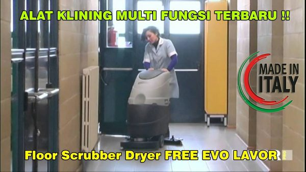 Floor Scrubber Dryer FREE EVO LAVOR