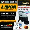 PROMO FREE EVO 50B - WALK BEHIND FLOOR SCRUBBER LAVOR MADE IN ITALY