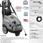 HIGH PRESSURE CLEANER LAVOR – TUCSON 1713 LP (THREE-PHASE)
