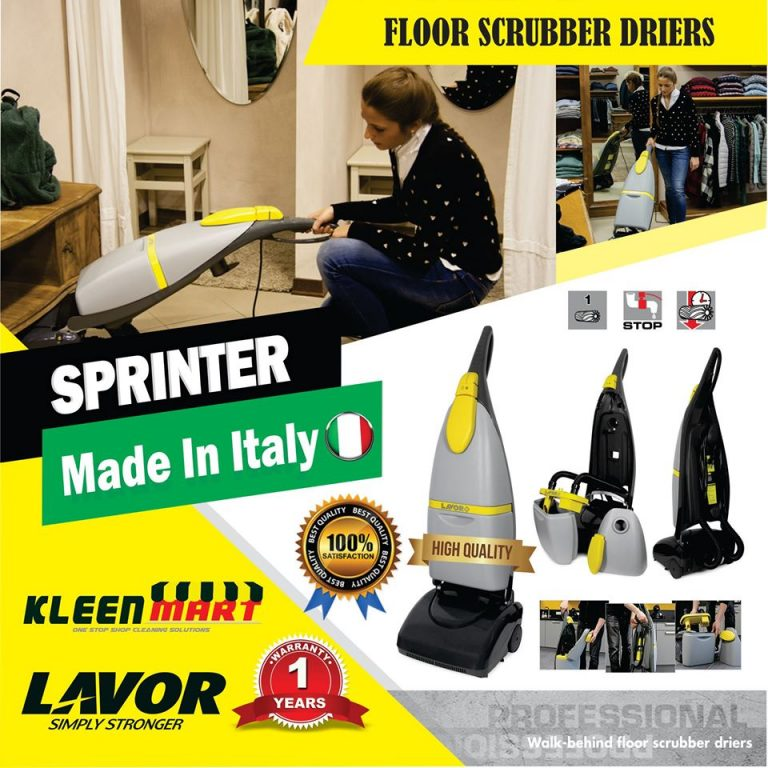 LAVOR SPRINTER MADE IN ITALY