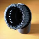 40mm Universal PP Plastic Dust Cleaning Head Floor Round Brush For Household Vacuum Cleaner