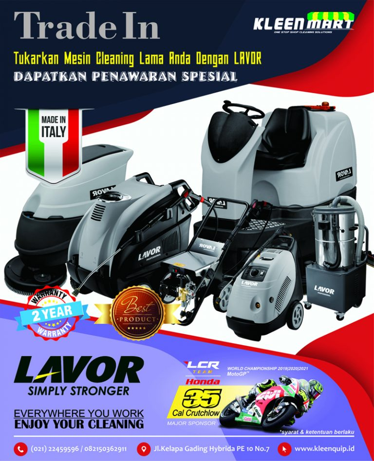 TRADE IN MESIN CLEANING